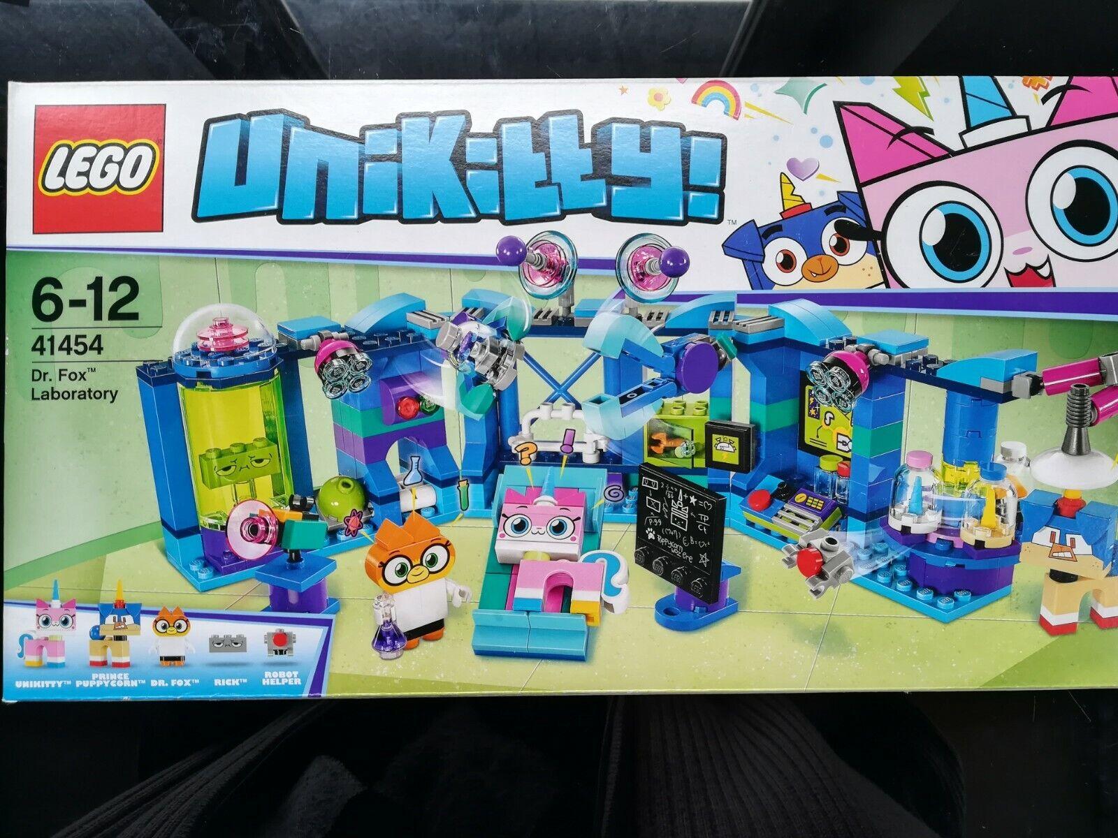 Lego Unikitty 41454 -Le laboratoire de Dr Fox NEUF scellé