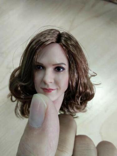 """1//6 Harry Potter Hermione Emma Watson Head Sculpt For 12/"""" PHICEN SUNTAN Figure"""