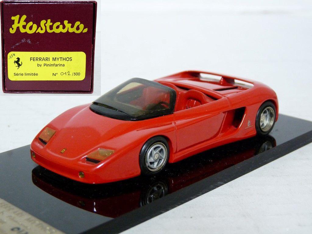 Hostaro 26 1 43 1989 Ferrari Mythos Pininfarina Resin Handmade Model Car