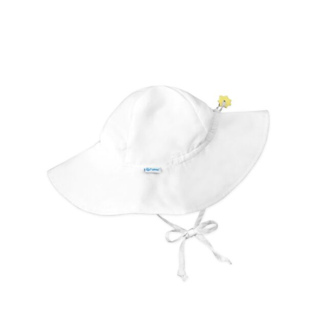 d7f3c12c5 Baby Toddler Sun Hat Wide Brim I Play UPF 50 Sun Protection Head Neck Eyes