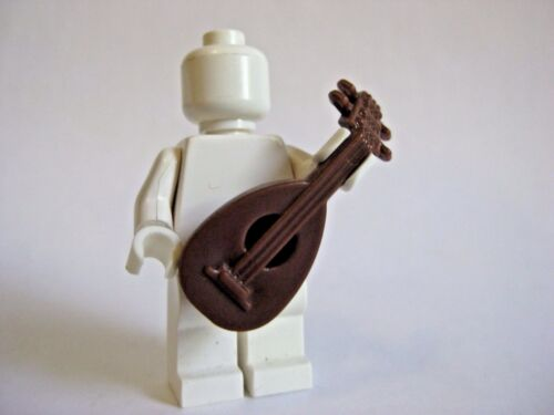 Custom LUTE Medieval Instrument for Lego Minifigures Knight Castle Bard
