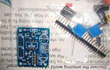 NE555 tone generator oscillator LED blinker DIY kit + piezo buzzer
