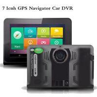 7 Capacitive Android Wifi Car Dvr Camera 1080p Gps Navigator Radar Detector