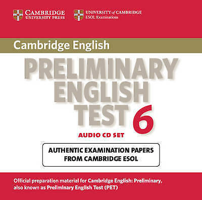 Cambridge Preliminary English Test 6 Audio CDs (2): Official Examination Papers