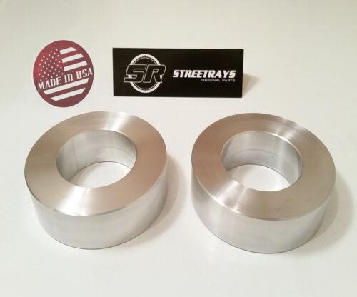 "StreetRays Billet Aluminum Jeep JK Front 2.0/"" Leveling Lift FOR Wrangler 07-18"