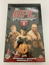 2009 Topps UFC Round 1 Factory Sealed Hobby Box--16 Packs--Autographs!