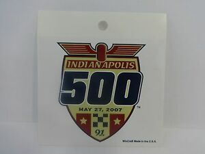 2007-Indianapolis-500-Collector-Event-Decal-Stricker-Indy500-IndyCar-Indy-500