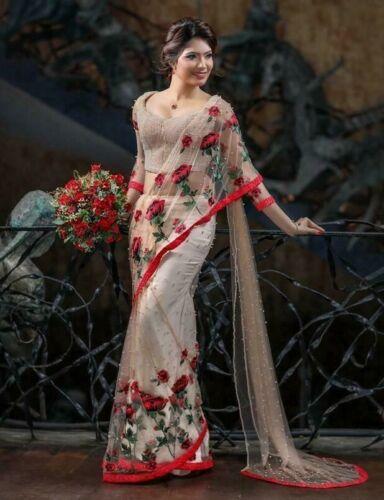 SABYASACHI FASHION Saree Party Wear Pakistani Designer Women Wedding Wear Sari