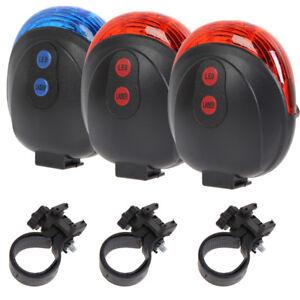 Radfahren-Fahrrad-hinten-Schwanz-Sicherheit-Warnung-5-LED-Laser-blinkt-Heckleuchten