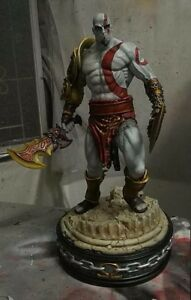 Details About 1 4 Kratos God Of War Game Model Figure Unpainted Unassembled Good Resin Kit