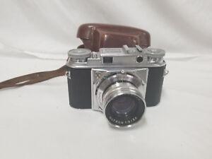 Vintage-Voigtlander-Prominent-Camera-w-Ultron-50mm-Lens