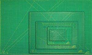 A1-A2-A3-A4-A5-Estera-de-Corte-Rotatorio-autorreparacion-Craft-Impreso-Rejilla-antideslizante