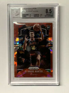 Deandre-Hunter-2019-Panini-Prizm-Red-Ice-Basketball-RC-251-BGS-8-5