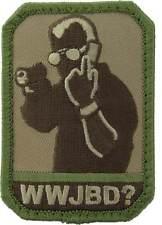 WWJBD (Jack Bauer) Morale Patch-Multicam (Arid)