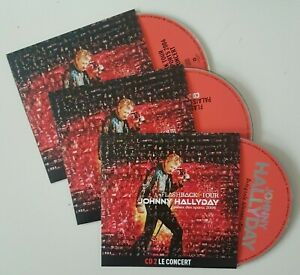 JOHNNY-HALLYDAY-CD-BONUS-INEDIT-FLASHBACK-TOUR-3-x-CD-NEUFS-PAUSINI