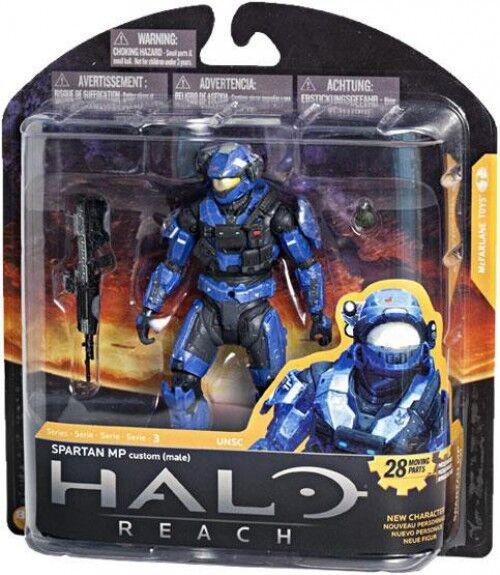 McFarlane Toys Military Halo Reach Series 3 Spartan MP Action Figure [blu]