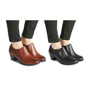M-amp-S-FOOTGLOVE-Wider-Fit-Tan-Leather-Shoe-Boots-UK-5-5-EU-39