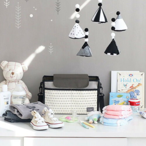 Stroller Baby Trolley Buggy Bottle Holder Storage Bag Organizer Mummy Bag RALDUK
