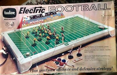 Vintage Tudor Electric Football Game Model 500 | eBay