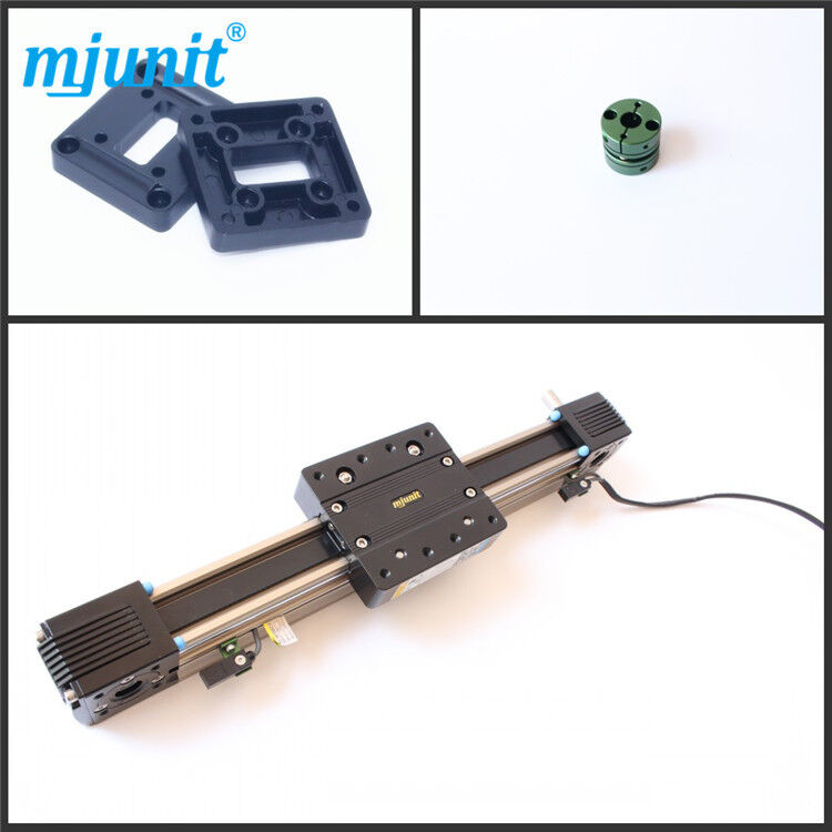 Mjunit MJ45 700mm stroke Belt drive linear actuator and linear motion rail
