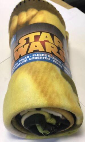 Star Wars Fleece Blankets Kids Boys Girls Disney Character Blankets UK Seller
