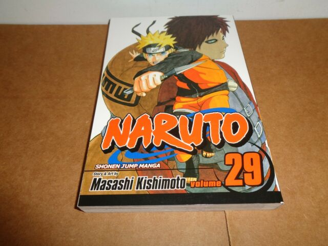 Naruto Vol. 29 by Masashi Kishimoto Viz (1st Printed) Manga Book in English