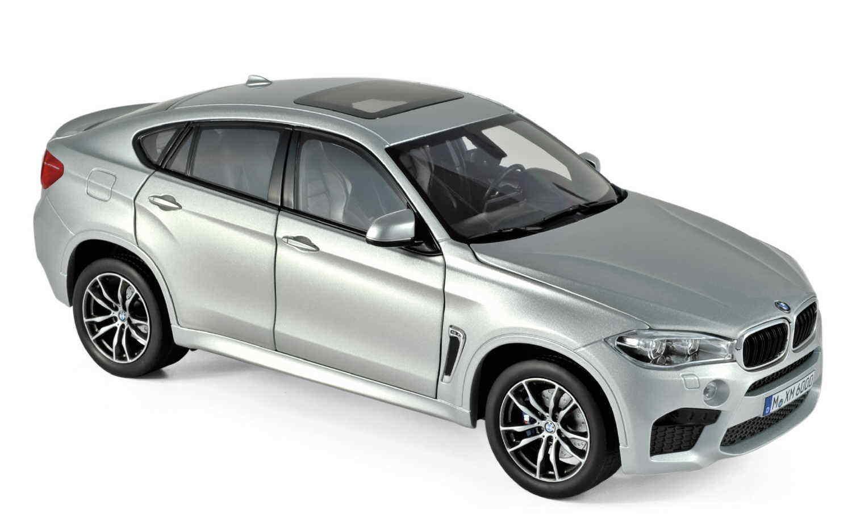 NOREV 183200 BMW x6 M 2016 argent 1 18 Nouveau Neuf dans sa boîte