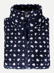 Pajamas-Open-in-Warm-Fleece-Woman