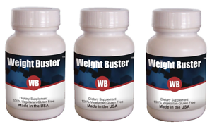 Weight Buster Anti Obesity & Weight Loss Protocol 3 Bottles- (Capsule 60X3)