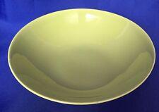 VTG Homer Laughlin Chartreuse Rhythm Round Serving Bowl Apple Green Vegetable