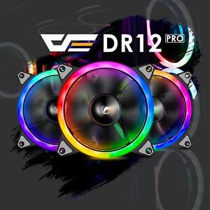 Aigo-Aurora-DR12-PRO-Kit-3-Pack-RGB-LED-120mm-High-Performance-Case-Cooling-Fan