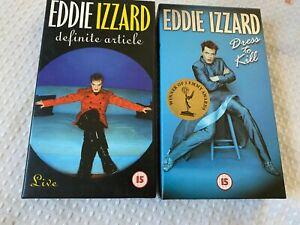 Eddie Izzard Robe Pour Kill 1998 VHS Avec Affiche Inclus & Definite Article