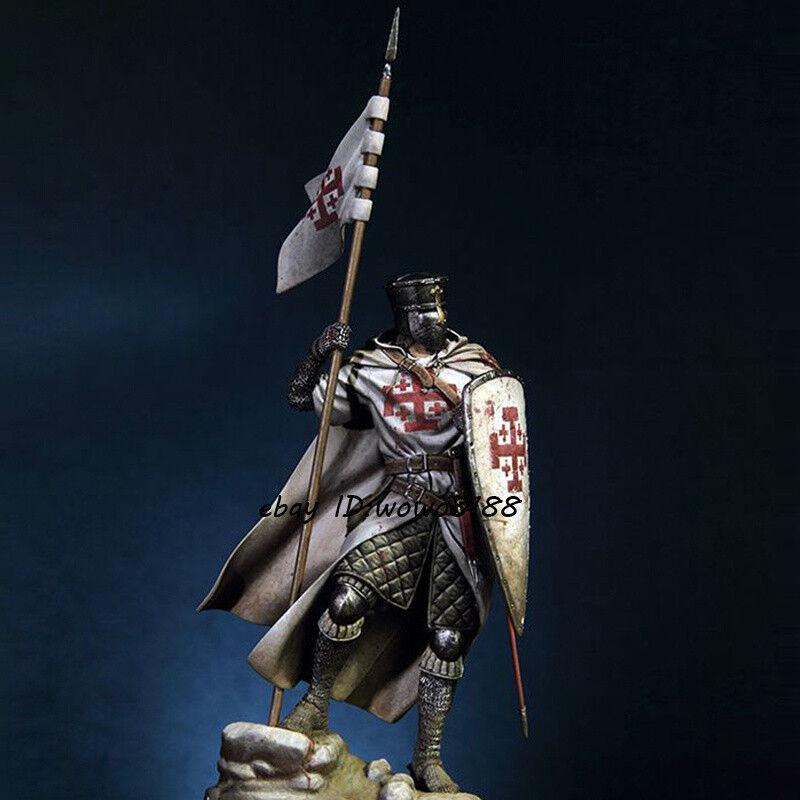 90MM 1 18 Resin Figure Model Ancient Knight Garage Kit Pedestal Unpainted Statue