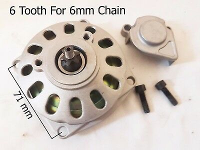 Clutchbell /& Clutch Kit 6 Tooth 6mm 47cc 49cc Air Cooled Mini Moto
