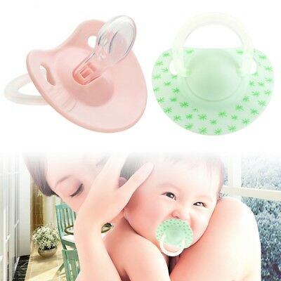 Newborn Kids Baby Orthodontic Dummy Pacifier Silicone Teat Nipple Soother FG