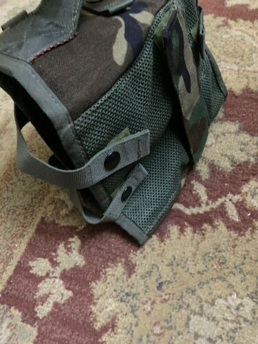 US Military Electronics Bag //Carrier Woodland,New