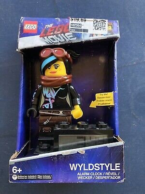 Lego Movie 2 Wildstyle Digital Alarm Clock Light Up Voice Moveable Arms 830659003974 Ebay