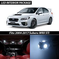 2004-2017 Subaru Impreza WRX STI White Interior LED Lights Package Kit