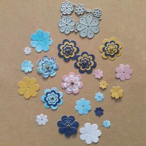 Sun-flower-Lace-Metal-Cutting-Dies-Stencil-Scrapbooking-Paper-Embossing-DIY-UK
