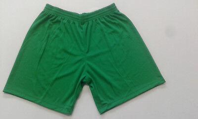 Amichevole Footex 10 Pantaloncino Calcio Calcetto Misura L Colore Verde Poliestere Traforat Fabbriche E Miniere