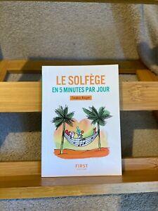 Frédéric Rouyer Le Solfège en 5 minutes par jour éditions First