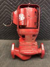 Small Bell Amp Gossett Pump D2 P00210 Booster Pr D30 16hp 1 Ph 1725 Rpm 115v