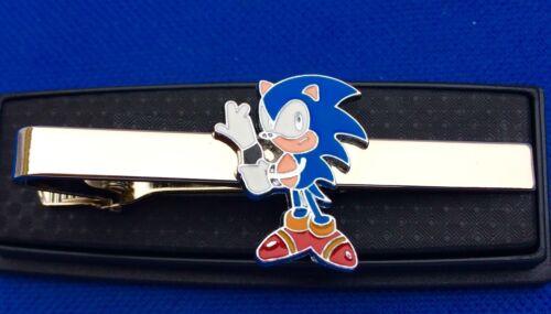 Sonic Hérisson Pince à Cravate Xbox Jeu Pince à Cravate Idée Cadeau Noeud Clasp