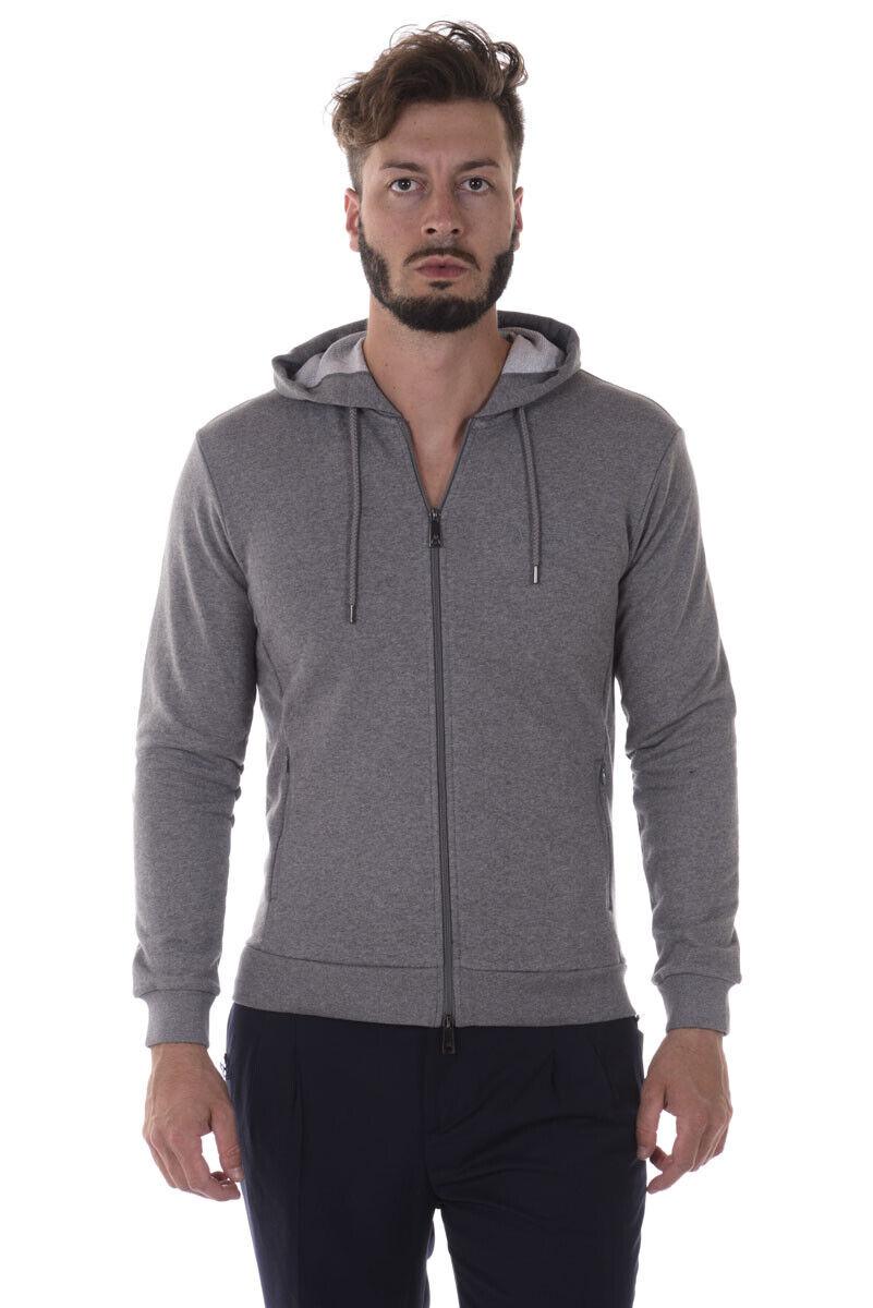 Armani Jeans AJ Sweatshirt Hoodie Man Grey 8N6M156J07Z 3916 Sz. XL PUT OFFER
