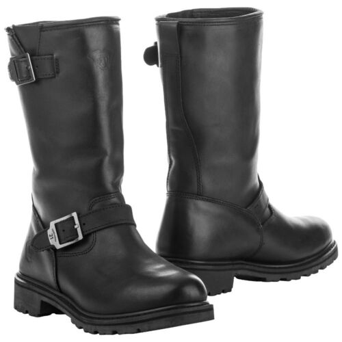 Highway 21 Mens Black Primary Engineer Street Motorcycle Boots Pick Size
