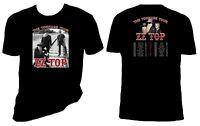Zz Top T Shirt, The Tonnage Tour 2017, Zz Top, Sizes S-6x