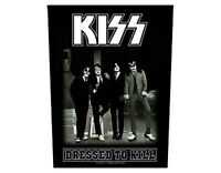 KISS dressed to kill 2011 GIANT BACK PATCH - 36 x 29 cms gene simmons