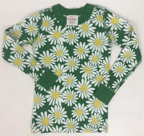Hanna Andersson Daisies Pajama Top Organic Cotton