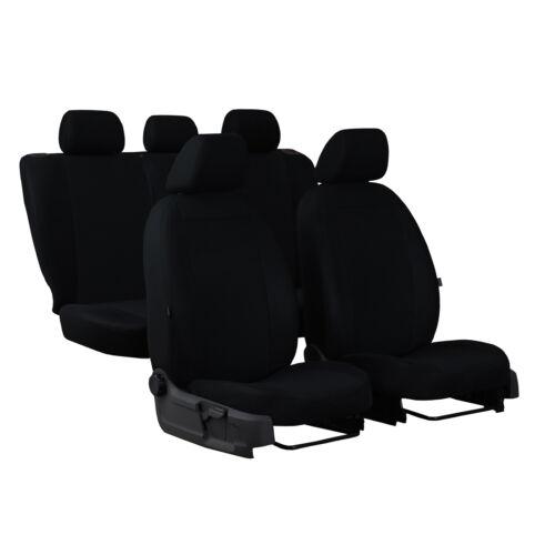 Universal Sitzbezüge für Nissan Qashqai I Schwarz Autositzbezug Schonbezüge Set