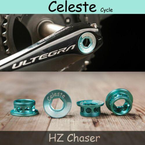 Celeste MTB road bike M20 Crank screw cap for bicycle bianchi shimano